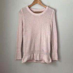 LOFT Pink Cotton Sweater